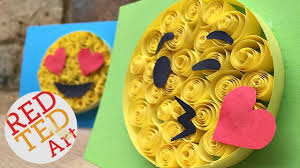 paper quilling for beginners emoji diy easy crafts cool
