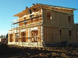interieur maison bois contemporaine maison passive ossature bois contemporaine ecologique