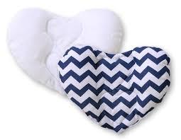 cale tete pour siege auto tête bébé pour siège auto zigzag bleu marine