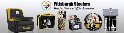 steelers home decor nfl pittsburgh steelers home office accessories store online