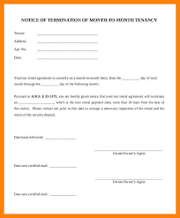 lease termination notice template lease termination letter sample