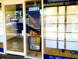 digital window digital screens real estate displays