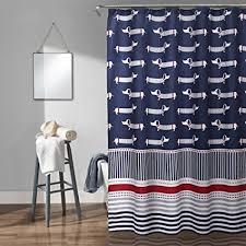 Lush Shower Curtains Lush Decor Lush Décor Sausage Shower Curtain 72