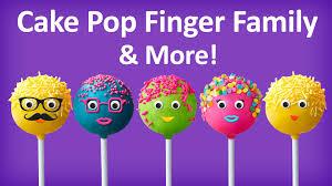 cake pop finger family collection top 10 finger family