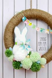 Spring Wreath Ideas Spring Wreath Ideas Spring Wreaths A Bunny And Spring
