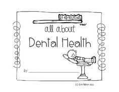 dental health unit for kindergarten and first grade dental