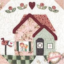 resultado de imagen para shabby fabric houses aplique