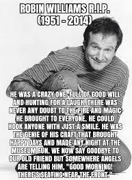 Robin Williams Meme - robin williams r i p 1951 2014 dark meme