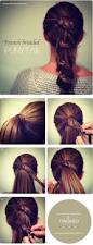 top 10 hairstyles for long hair top 10 hairstyle tutorials for this fall thicker hair ponytail