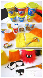 halloween monster party snack cups hungry happenings