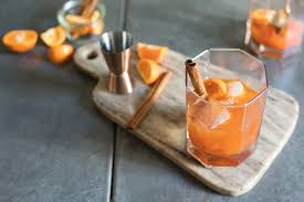 old fashioned recipe spiced persimmon old fashioned cocktail