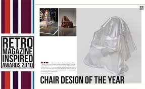 design magazine awards the ghost of a chair chair design of the year 2010 by retro