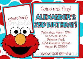 elmo birthday invitations kawaiitheo com