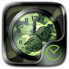 theme clock army go clock theme android apps on play