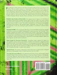 manual of mineral science amazon co uk cornelis klein