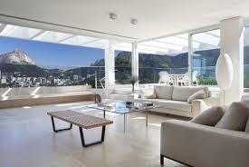 Modern Penthouses Designs Elegant Modern Penthouse With Large Terrace In Rio De Janeiro