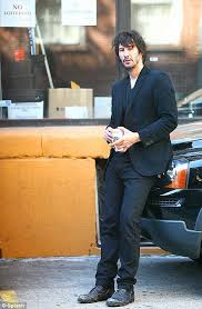 Sad Keanu Reeves Meme - keanu reeve striks a sad figure again as he smokes outside no
