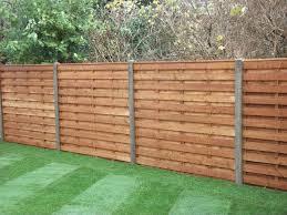Fence Backyard Ideas by Best 25 Concrete Fence Panels Ideas On Pinterest Fence Design