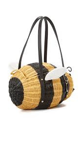 kate spade new york wicker bee bag shopbop save up to 30 use