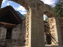 Interior Stone Arches Ghesc Italy Workshop Artemis Stone Works