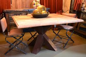 Travertine Dining Table In Stock Spanish Style Furniture Demejico