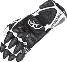 white motorbike jacket berik jerez 8088 motorcycle gloves black white home clothing
