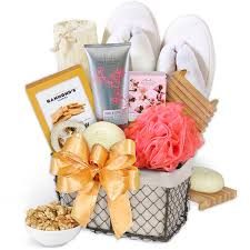 Bath Gift Basket Spa Baskets Flower Delivery Worldwide
