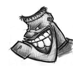 frankenstein cartoon character monster drawings sketches