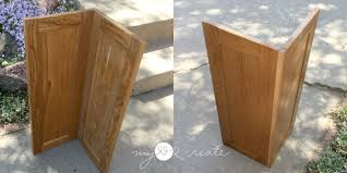 how to make corner cabinet corner cabinet planter my 2 create