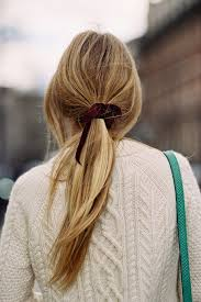 ribbon ponytail best 25 ribbon hairstyle ideas on ribbon hair scarf