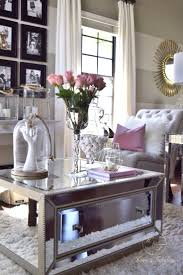 Decorate A Living Room by Best 20 Mirrored Coffee Tables Ideas On Pinterest Home Living