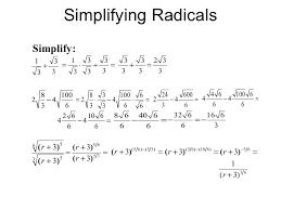 simplify exponents worksheets simplifying radical expressions rational exponents radical equations
