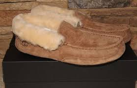 ugg grantt sale mens ugg australia grantt suede shearling slippers chestnut brown