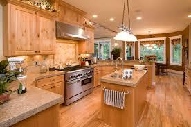Light Wood Kitchens Cabinet Lighting Elegant Light Cherry Cabinets Kitchen Pictures