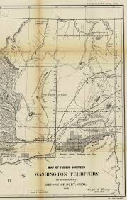 Map Of Spokane Washington Historical Maps Washington Council Of County Surveyors