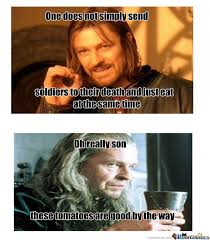 Funny Lord Of The Rings Memes - lotr eating lotr hobbit and tolkien