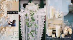 Home Decor For Your Style Beautiful Decor For An All White Party Homesthetics Inspiring