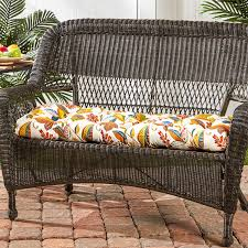 Garden Bench With Cushion Amazon Com Greendale Home Fashions 44 Inch Indoor Outdoor Swing