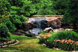 Rock Quarry Garden Retaining Wall Gabion Rock Quarry Garden Greenville Sc Weddings