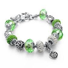european style bracelet beads images European style authentic tibetan silver blue crystal charm jpg