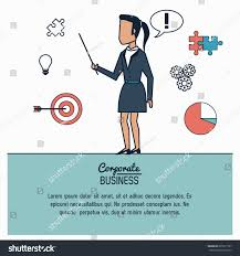colorful infographic corporate business business stock