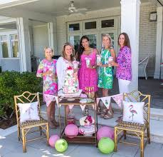 ideas for bridal luncheon kara s party ideas lilly pulitzer inspired tropical bridal