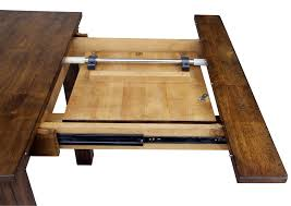 dining room tables with built in leaves dining room table leaves coryc me