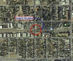 Metro Link Map by Juniper At Metrolink At Grade Crossing Fontana Ca Official