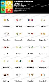 Test Of Genius Worksheet Answers Emoji Challenge Answers Game Solver
