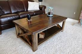 rustic living room tables furniture square rustic coffee table