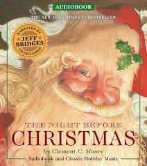 the night before christmas audiobook narrated by academy award