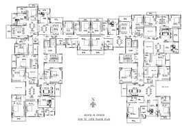 Layout Floor Plan by Snn Raj Lake View Master And Floor Plans Snn Builders