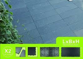 black slate stone tile nature stone material quick tile merit
