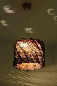 Cardboard Pendant Light Laser Cut Corrugated Cardboard Pendant Lamp Tear Drop Shape